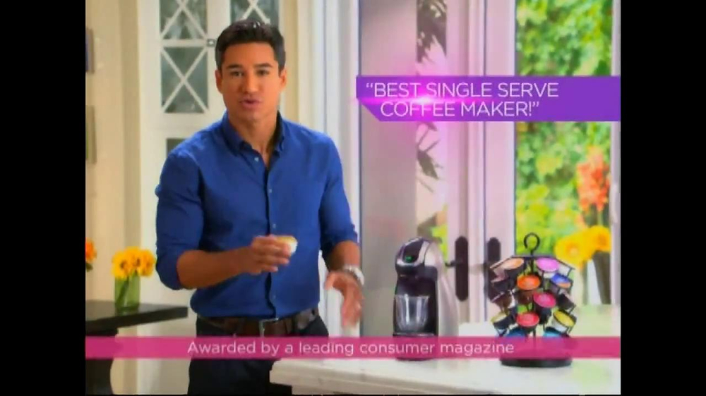 Nescafe Dolce Gusto TV Spot Featuring Mario Lopez - Screenshot 3