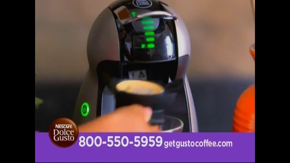 Nescafe Dolce Gusto TV Spot Featuring Mario Lopez - Screenshot 6