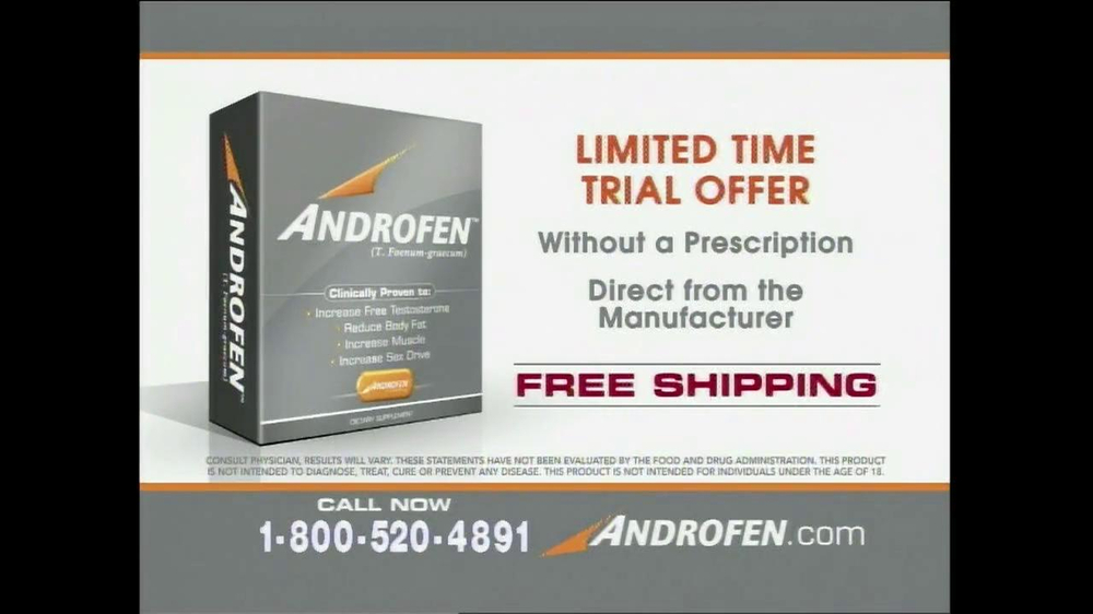 Androfen TV Spot, 'Boost Free Testosterone' - Screenshot 6