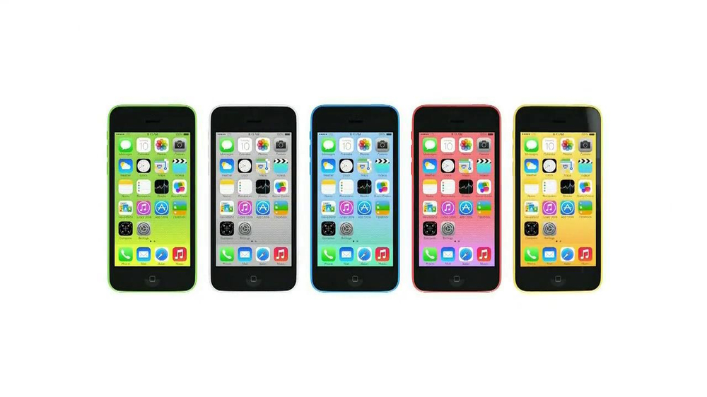 Apple iPhone 5c TV Spot, 'Plastic Perfected' Song by Sleigh Bells - Screenshot 7
