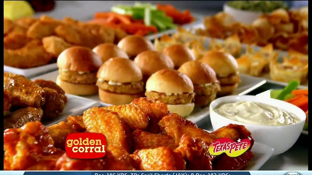 Golden Corral TV Spot, 'Wing and Appetizer Bar' - Screenshot 1