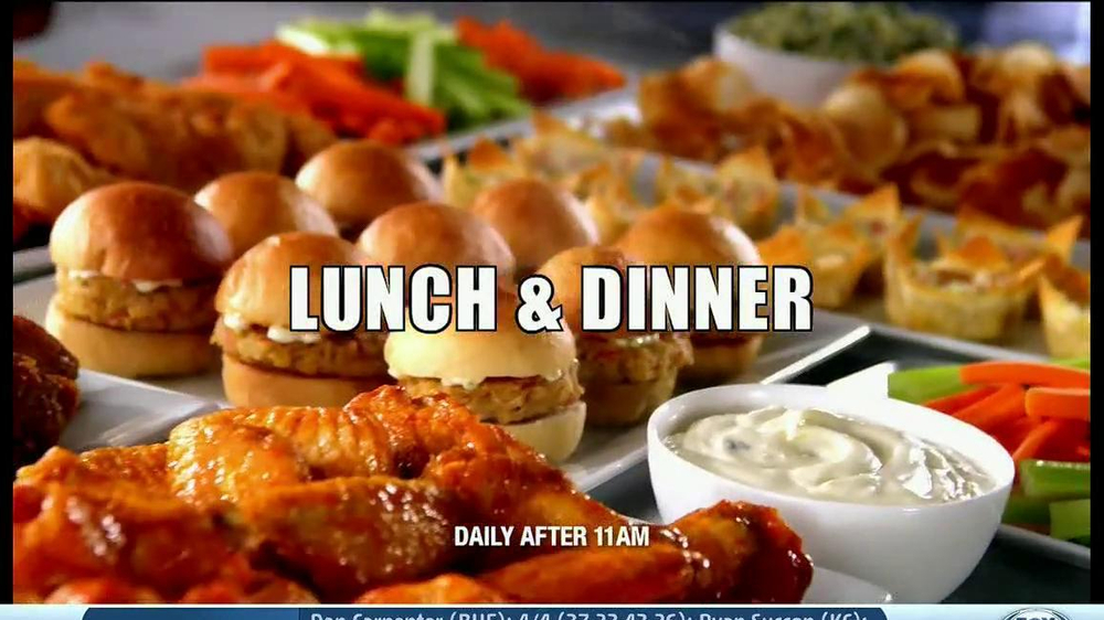 Golden Corral TV Spot, 'Wing and Appetizer Bar' - Screenshot 10