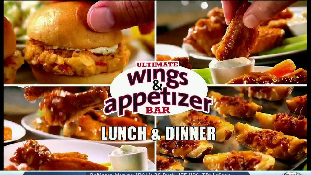Golden Corral TV Spot, 'Wing and Appetizer Bar' - Screenshot 3