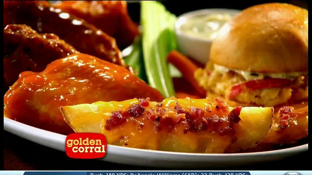 Golden Corral TV Spot, 'Wing and Appetizer Bar' - Screenshot 7