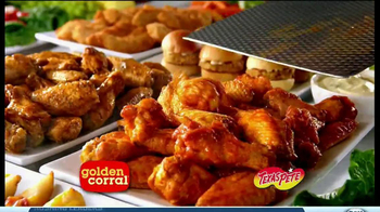 Golden Corral TV Spot, 'Wing and Appetizer Bar' - Thumbnail 2