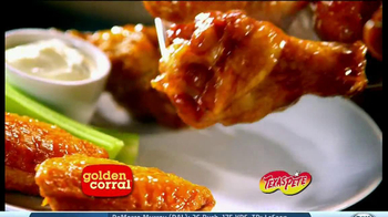 Golden Corral TV Spot, 'Wing and Appetizer Bar' - Thumbnail 4
