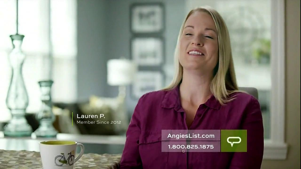 Angie's List TV Spot, 'Working Mom' - Screenshot 6