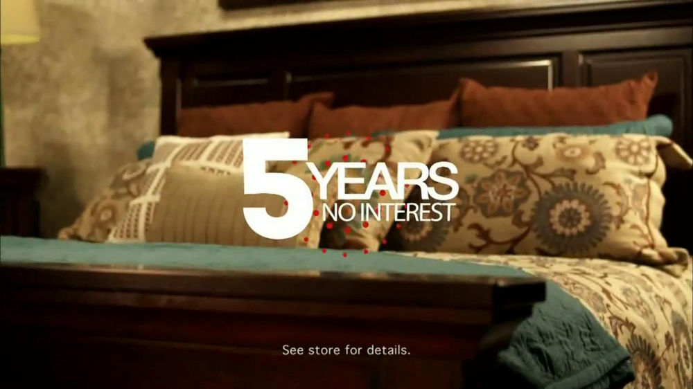 ashley furniture homestore tv commercial 39 20 off or 5 ForFurniture 5 Years No Interest