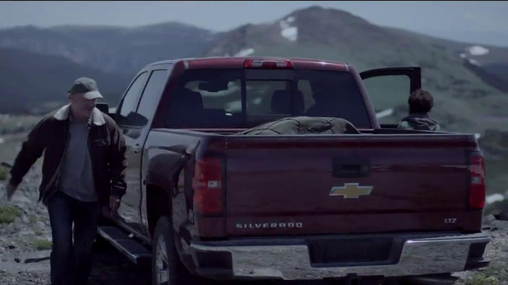 Chevrolet Silverado TV Spot, 'A Father and His Son' - Screenshot 7