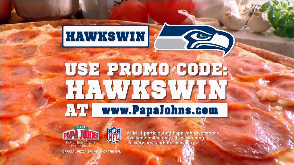 Papa John's TV Spot, 'Seahawks Win' - Screenshot 5