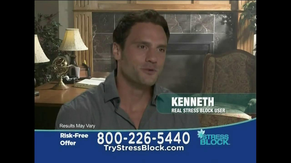 Stress Block TV Spot, 'Risk Free' - Screenshot 3