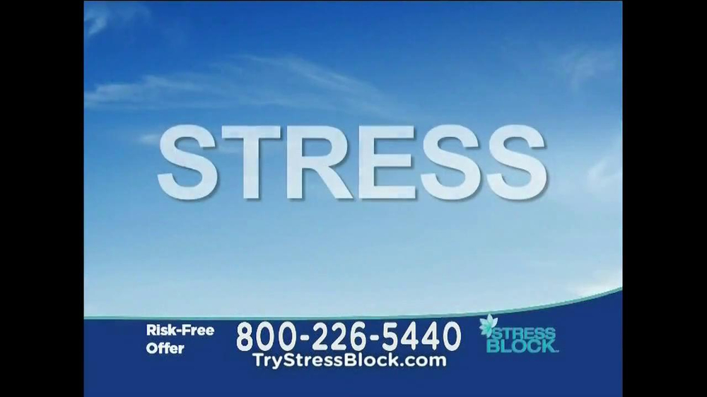 Stress Block TV Spot, 'Risk Free' - Screenshot 4