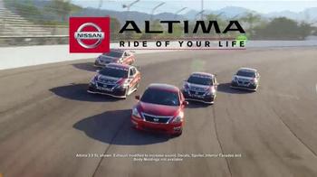 Nissan Holiday Bonus Cash TV Spot, 'Ride of Your Life'