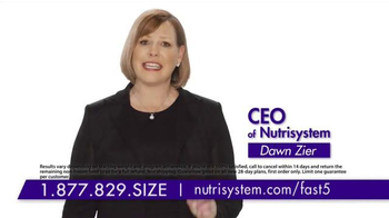 Nutrisystem Fast 5+ TV Spot, 'Be Healthy' Feat. Marie Osmond & Dawn Zier thumbnail