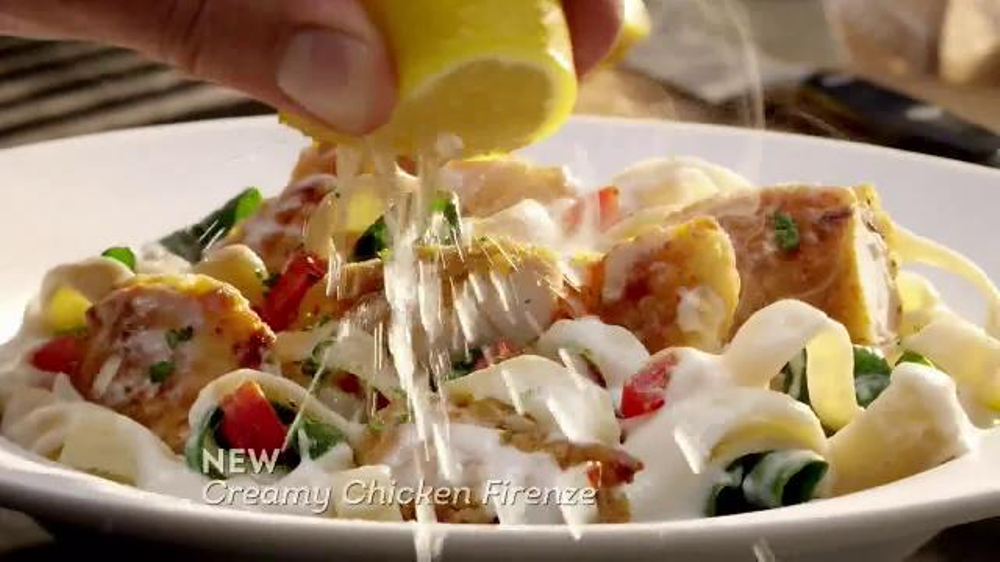 Olive Garden Tuscan Dinner Tv Commercial 39 More New Dishes