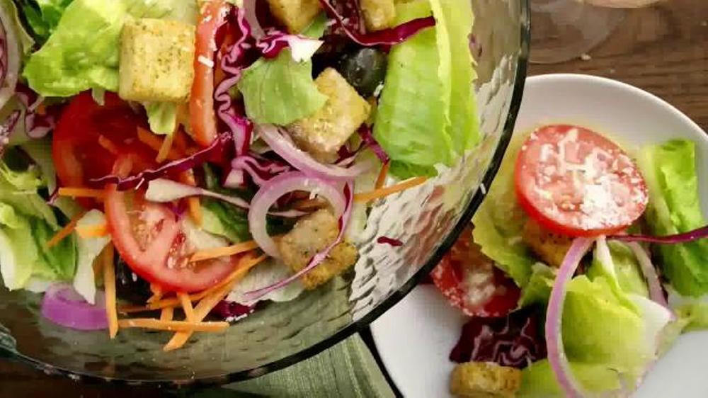 Olive Garden Tuscan Dinner Tv Spot 39 More New Dishes
