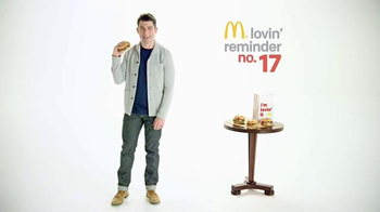 McDonald's: Daily Lovin' Reminder #17: Upholstery