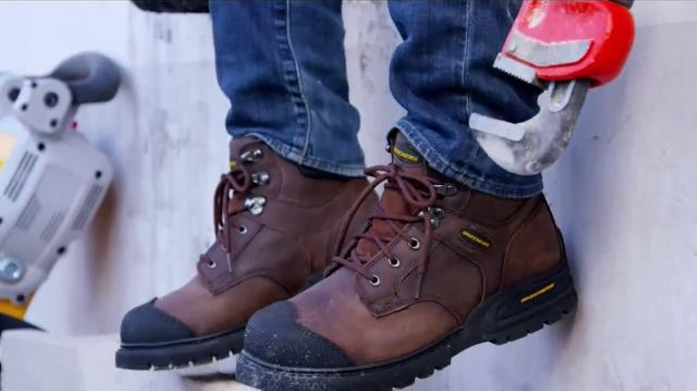 SKECHERS Work Footwear TV Spot, 'Safety Toe Work Division' thumbnail
