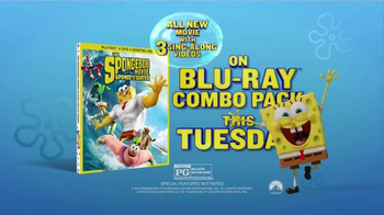 The Spongebob Movie: Sponge Out of Water Blu-Ray Combo Pack TV Spot