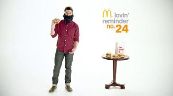 McDonald's Sirloin Third Pound Burgers TV Spot, 'Beard' Ft. Max Greenfield thumbnail