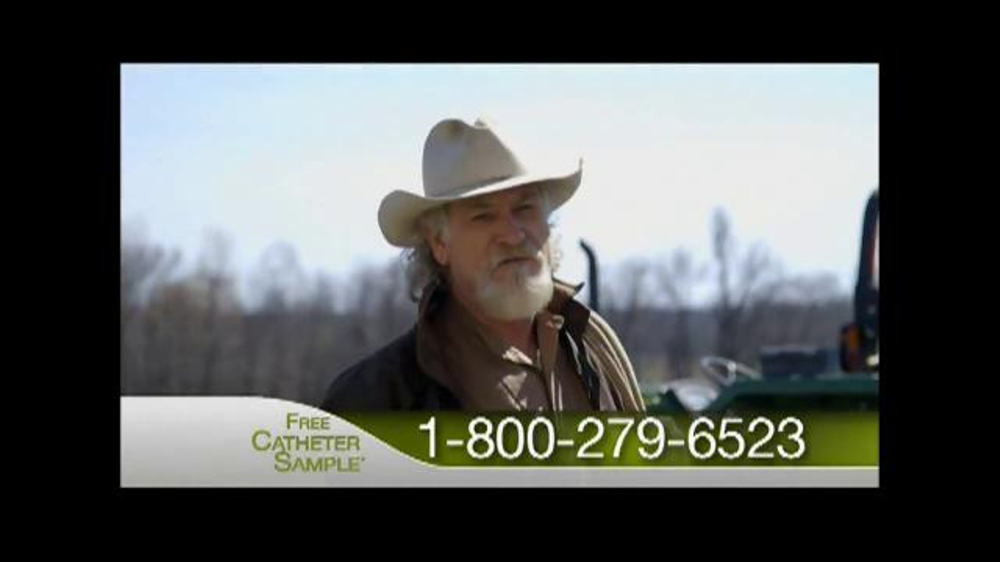 Catheter commercial cowboy learn