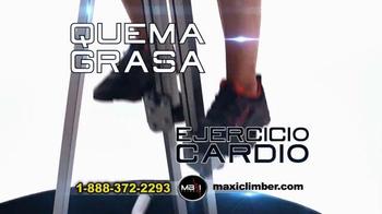 MaxiClimber TV Spot, 'Ejercita Todo tu Cuerpo' [Spanish]