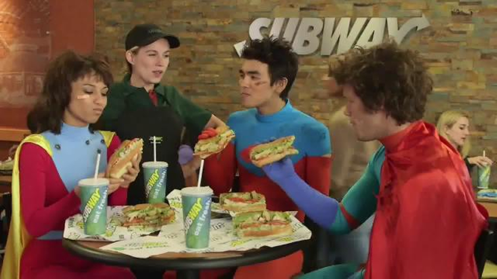 subway chipotle chicken melt tv commercial 39 superheroes. Black Bedroom Furniture Sets. Home Design Ideas