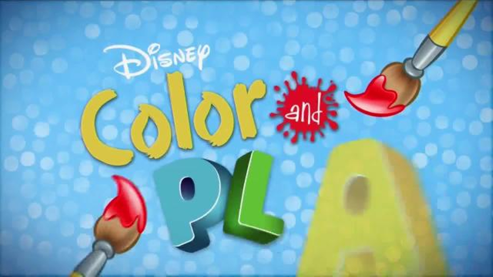 Disney Coloring Pages Come To Life : Disney color and play app tv spot drawings come to life