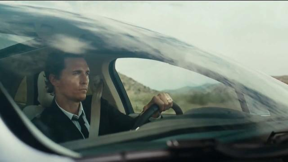 Matthew McConaughey Lincoln Commercial