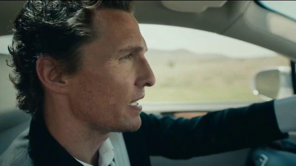 2015 lincoln mkc tv spot 39 i just liked it 39 featuring matthew mcconaughey. Black Bedroom Furniture Sets. Home Design Ideas
