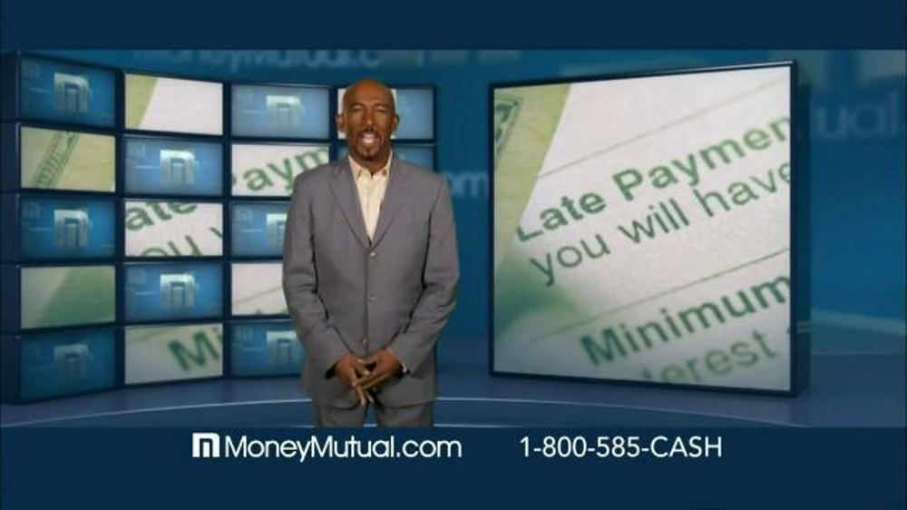 Money Mutual TV Spot, 'Past Due' Featuring Montel Williams thumbnail