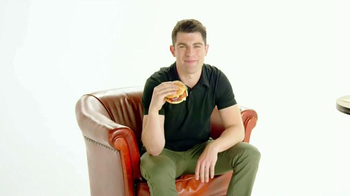 McDonald's Sirloin Third Pounder TV Spot, 'First Time' Feat. Max Greenfield