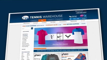 Tennis Warehouse TV Spot, 'Improve Your Game'