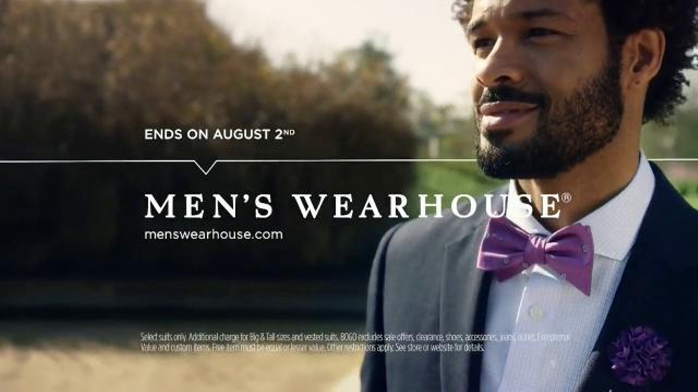 Men s wearhouse summer suit up sale tv spot suits and bogo