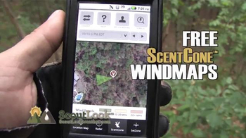ScoutLook ScentCone Windmaps TV Spot, 'Scent Control'