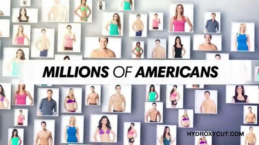 Hydroxy Cut TV Spot, 'Join Millions of Americans'