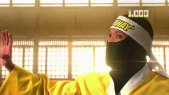 Subway TV Spot, 'Fresh Ninja'