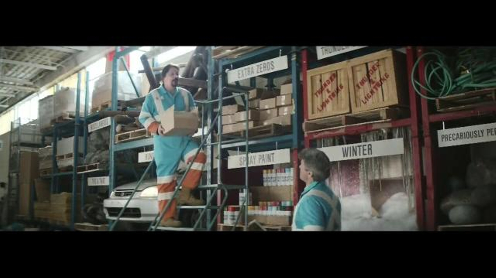 The Hartford TV Spot, 'Warehouse of the Unexpected: Extra ...