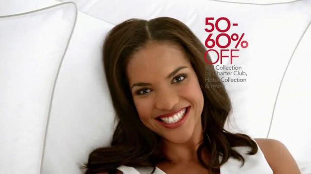 Macy's Home Sale TV Spot, 'Pillows, Comforters, Cookware'