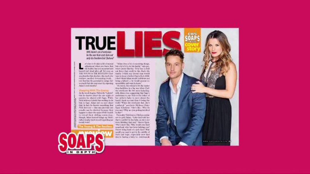 CBS Soaps In Depth Magazine - October 30, 2017 - The Bold and the Beautiful