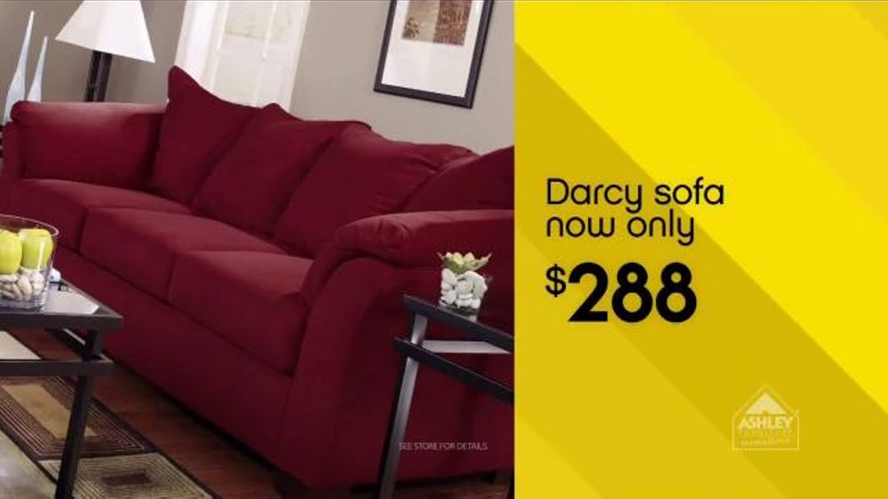Ashley furniture homestore national sale clearance event tv commercial 39 sofas 39 Ashley home furniture weekly ad