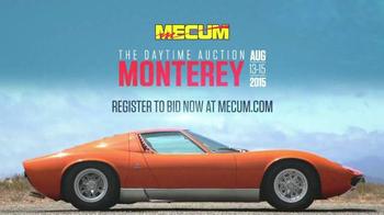 Mecum Auctions TV Spot, 'The Daytime Auction Monterey' thumbnail