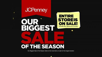 JCPenney Biggest Sale of the Season TV Spot, 'Juniors and Kids Apparel'
