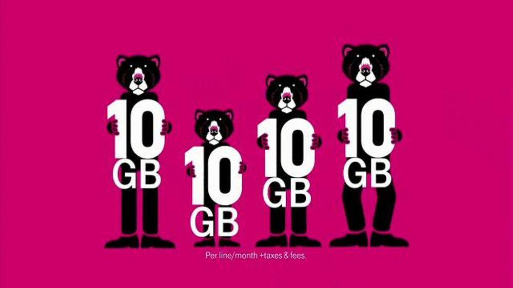 T-Mobile TV Spot, '10 Gigs for All Family Plan'