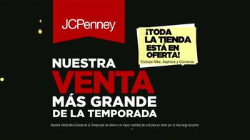 JCPenney Venta más grande de la temporada TV Spot, 'Vestirse' [Spanish]