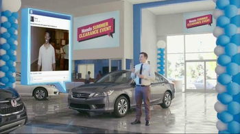 Honda Summer Clearance Event TV Spot, 'New Apartment' thumbnail