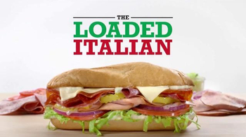 Arby's Loaded Italian TV Spot, 'Where Do Sandwiches Come From'