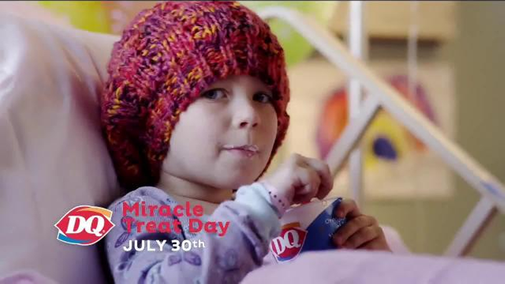 Dairy Queen TV Spot, 'Miracle Treat Day'