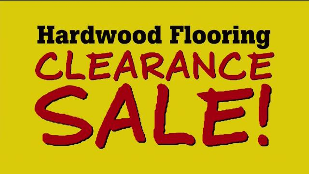 Lumber liquidators hardwood flooring clearance tv for Hardwood flooring deals