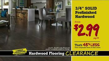 Lumber Liquidators Hardwood Flooring Clearance TV Spot, 'More Great Deals'